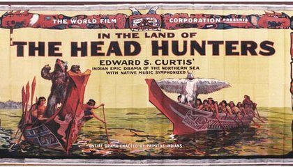 In The Land Of The Head Hunters film billboard