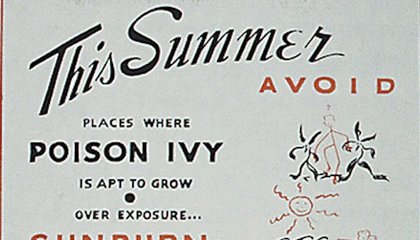 """Vintage Summer Tips From the U.S. Government: """"Overeating Is Overheating"""""""