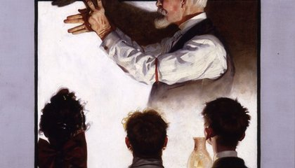 Lucas and Spielberg to Show Norman Rockwell Art at Smithsonian in 2010