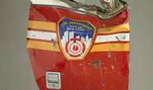 September 11 Artifact: Brooklyn Squad 1 Fire Truck Door