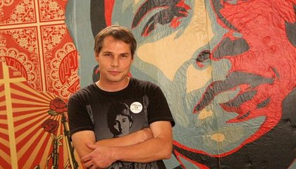 The Artist Behind the Obama Portrait: Shepard Fairey