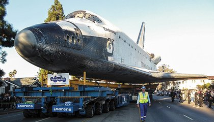 Driving the Space Shuttle