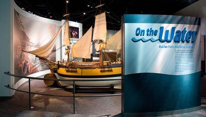 """What! No Beach This Weekend? Try Smithsonian's """"On The Water"""" Exhibit"""