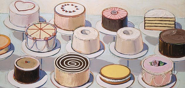 Artist Who Draws Cake : Wayne Thiebaud Is Not a Pop Artist Arts & Culture ...