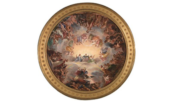 Study for the Apotheosis of Washington, ca. 1859-1862