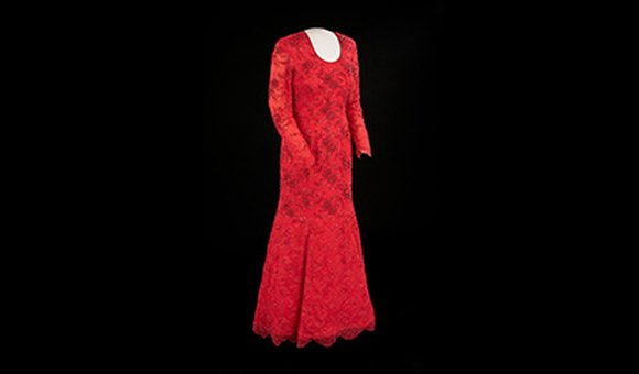 Laura Bush's Inaugural Dress