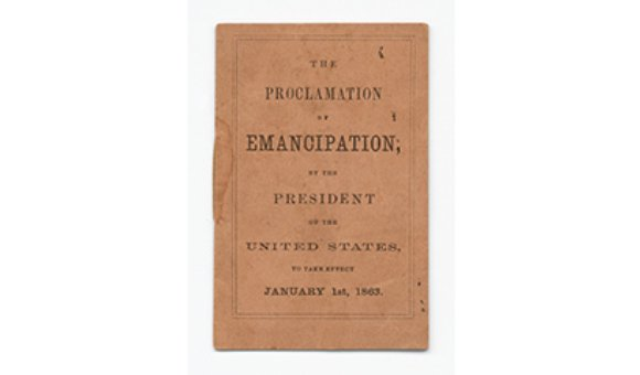 The Proclamation of Emancipation, 1862