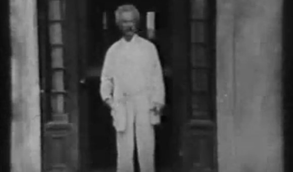 Preview thumbnail for video'The Only Footage of Mark Twain in Existence