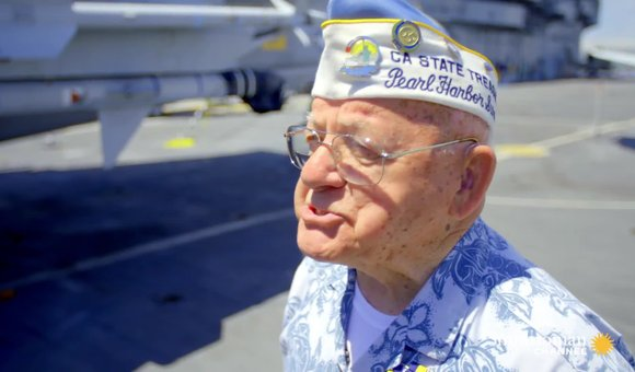 Preview thumbnail for video'A Pearl Harbor veteran tells his harrowing story of survival