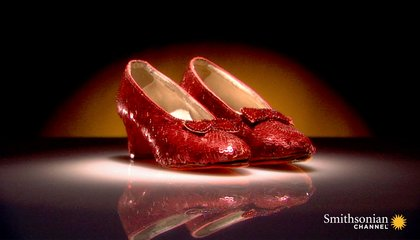 Dorothy's Ruby Slippers Were Originally Silver