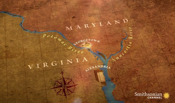 Preview thumbnail for video'The Reason Why DC Is Between Maryland and Virginia