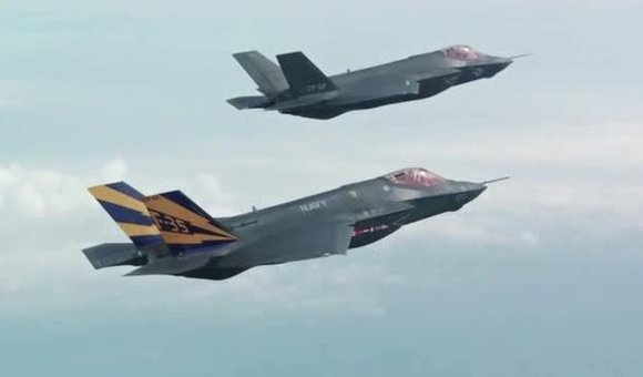 Preview thumbnail for video'Joint Strike Fighter Testing in 2012