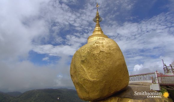 Preview thumbnail for video'The Burmese Monument That Appears to Defy Gravity