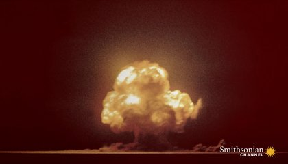 This Is the Only Color Photo of the First Atomic Explosion
