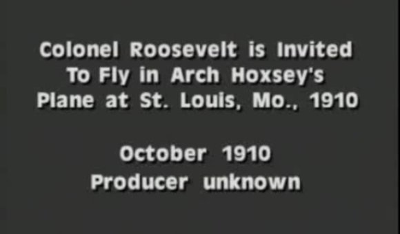 Preview thumbnail for video'Teddy Roosevelt Goes Flying