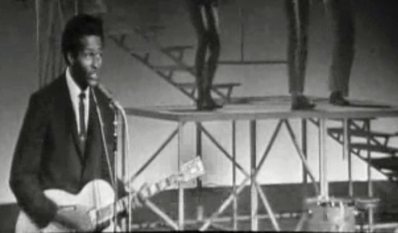 "Preview thumbnail for video'Chuck Berry Performs ""Johnny B. Goode"""