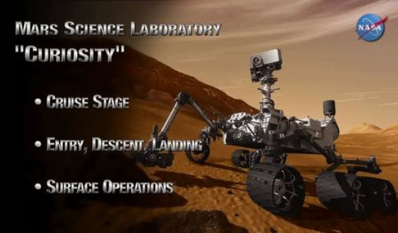 Preview thumbnail for video'Mars Science Laboratory