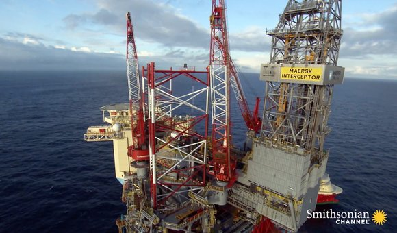 Preview thumbnail for video'How a Deep-Sea Offshore Drilling Rig Works